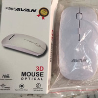 Mouse wireless OEM PC/ Mouse Slim Avan