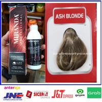 miranda hair color permanent + oxidant ash blonde