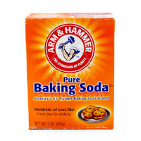 arm & n hammer hamer pure tepung baking backing soda powder 454gr USA