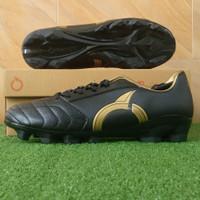 Sepatu Bola Ortuseight Mirage FG - Black/Gold