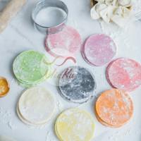 Kulit Siomay / Dimsum / Gyoza Tipis MIX WARNA / Kulit Siomay Rainbow