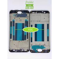 Frame LCD Tatakan LCD Tulang Casing Bezel Oppo A39 A57 Hitam Putih