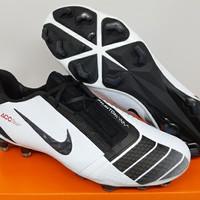Sepatu Bola Nike Phantom Venom Pro Elite Future DNA White Black FG