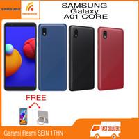 Samsung Galaxy A01 CORE Ram 2/32GB Garansi Resmi SEIN - Hitam