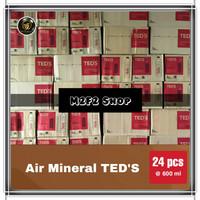 Air Mineral TEDS Botol Plastik Pet - 600 ml (Khusus Gojek/Grab)