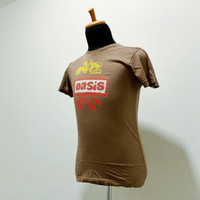 Official T-shirt Oasis - Kaos UK EU tour size S Import