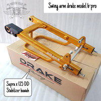 Swing Arm Lengan Ayun DRAKE RACING Model B Pro Supra X 125