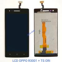 LCD OPPO R3001 + TOUCHSCREN ORIGINAL ( MIROR 3 ) - Hitam