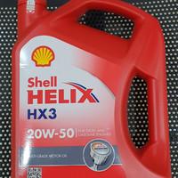 Oli Mobil Shell HELIX HX3 20W-50 4L