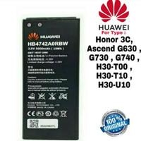 Baterai Original Honor 3C Ascend G730 G630 G740 HB4742A0RBW