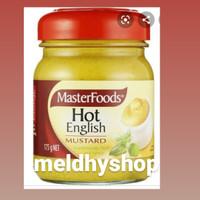 MASTERFOODS HOT ENGLISH MUSTARD 175gr