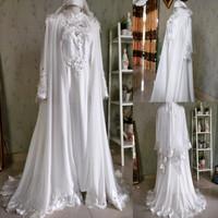 Baju Dress akad Nikah walimah Syari model Turki
