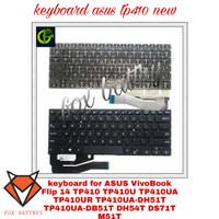 keyboard ASUS VivoBook Flip 14 TP410 TP410U TP410UA TP410UR TP410U