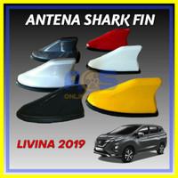 ANTENA SHARK FIN SIRIP HIU JS RACING ALL NEW LIVINA 2019
