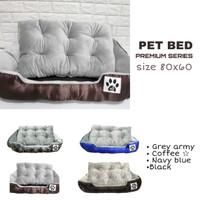 Tempat tidur anjing pet bed bantal kasur ranjang anjing size 80 x 60cm