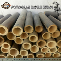 Potongan Bambu Hitam