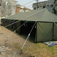 TENDA PLETON UK 6X14X3 STANDART TNI/MILITER BAHAN D300 POLYESTER