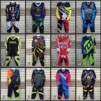 Setelan Anak Baju Balap Motor Cross Baju Motor Cross Anak Moto GP