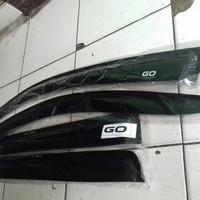 Talang air mobil Nissan datsun go+ model slim lem 3m
