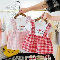 Dress Bayi/Dress Anak/Dress Motif Kotak - D-004
