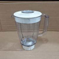 Set Jar Blender Philips HR 2106 / HR2102 Original Termurah Promo