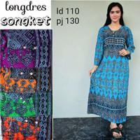 Gamis rayon murah / longdress batik / daster murah / baju tidur wanita