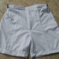 Celana Pendek Putih Polos tes TNI POLRI