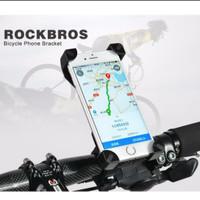 Rockbros Bracket Holder Smartphone Hp 6.5 - 7 inch Sepeda dan motor