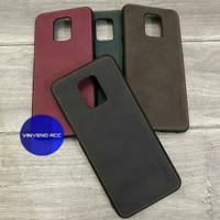 Caseme Original Leather Back Cover Case Xiaomi Redmi Note 9 pro