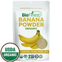 Biofinest Banana Powder Raw Organic Pure Superfood 114g