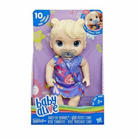Baby Alive Lil Sounds : Interactive Baby Doll - Blonde Hair
