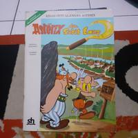 buku kisah Petualangan asterix dan sabit Emas