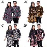 Atasan Seragam Batik Couple Kekinian / Baju Batik Mama Papa Ayah Ibu
