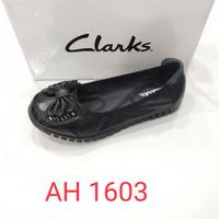 Sepatu Clarks Flat Art AH1603 / Clark / Clarks Flat / Flat shoes kulit