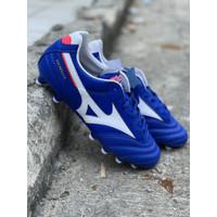Sepatu bola mizuno original Morelia 2 PRO Short tongue reflex blue new