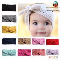 Bandana rajut bayi pita / Baby Headband knit