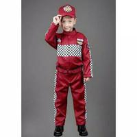 Baju profesi pembalap umur 3-6 tahun