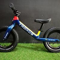 Troxus pushbike balancebike sepeda anak carbon