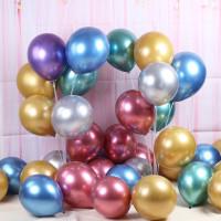 Balon Latex Metalik Chrome 10 inch / Balon chrome latex 10 inch
