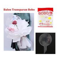 Balon Transparan PVC / Transparant Baloon - 18 inch