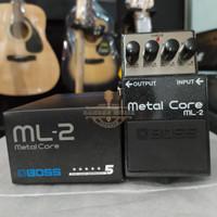 BOSS ML-2 Metal Core Distortion Pedal,BMJ