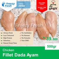 Fillet Dada Ayam, / Chicken Breast Fillet, by JOOYFUL