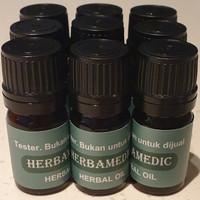 Tester Herbamedic Herbal Oil, minyak imunitas, obat segala penyakit