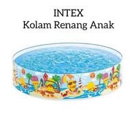 KOLAM RENANG ANAK INTEX TANPA POMPA - MAINAN AIR EDUKATIF - EDUKASI
