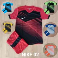 Baju Anak Volly Jersey Olahraga Futsal Kaos Bola Setelan Voli Adidas