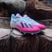 Sepatu Sepak Bola Adidas X 19.3 FG White Pink Original