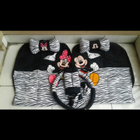 BANTAL MOBIL SET IMPORT 18 IN 1 MICKEY MOUSE