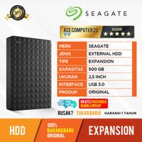 HDD EXPANSION SEAGATE 500GB - EXTERNAL HARDDISK HDD ORIGINAL