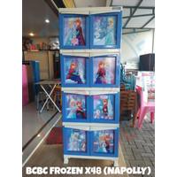 Lemari Plastik Susun 4 Jempol BCBC Frozen X48 NAPOLLY