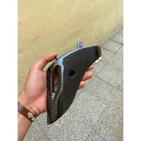 Cover Shock carbon kevlar bahan fiber for Vespa Sprint/Primavera
